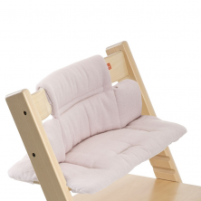 Stokke® Tripp Trapp® Cushion Pink Tweed (no incluye silla Tripp Trapp®)